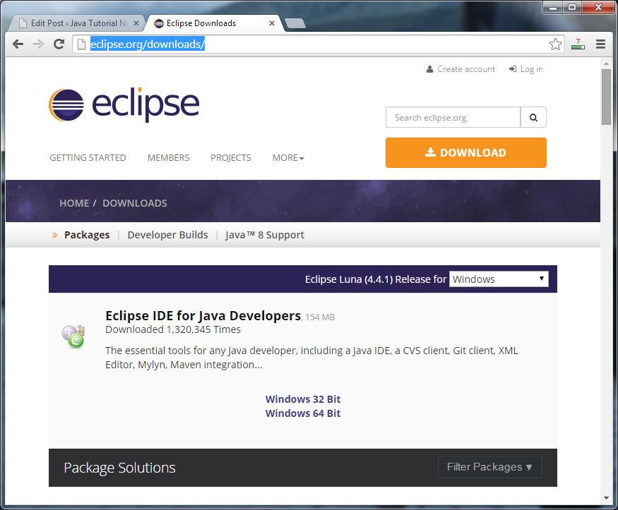 Java tutorial pdf eclipse d