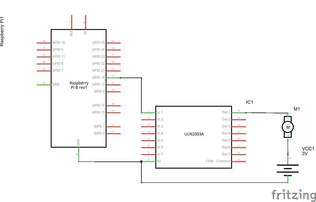 Raspberry Pi Control Motor Speed Java Tutorial Network Controller Circuit That Can Be Used For Varying The Connect Schematic