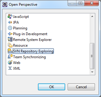 svn repository exploring