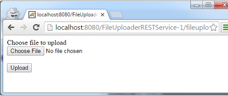 Java File Upload REST service | Java Tutorial Network
