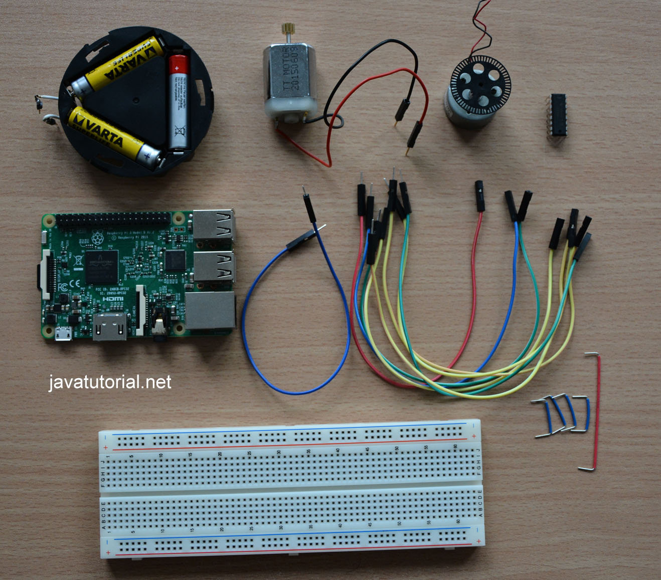 Raspberry Pi Control Dc Motor Speed And Direction With Java How To Build Controller Hardware Components