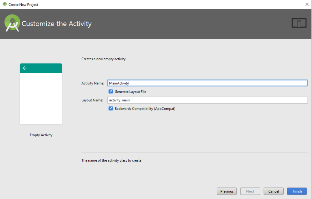 Step 4: Customize activity