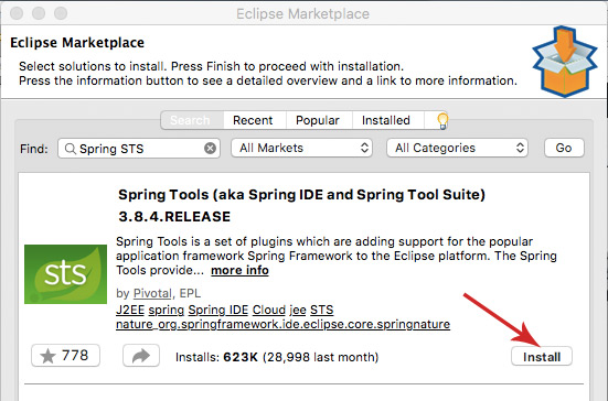 Install Spring STS in Eclipse | Java Tutorial Network