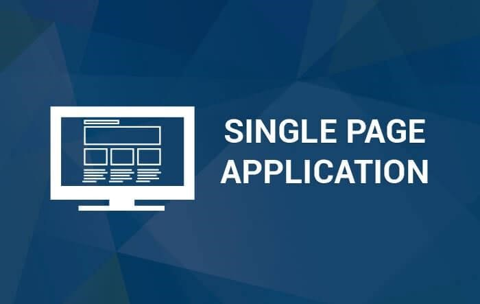 single page application